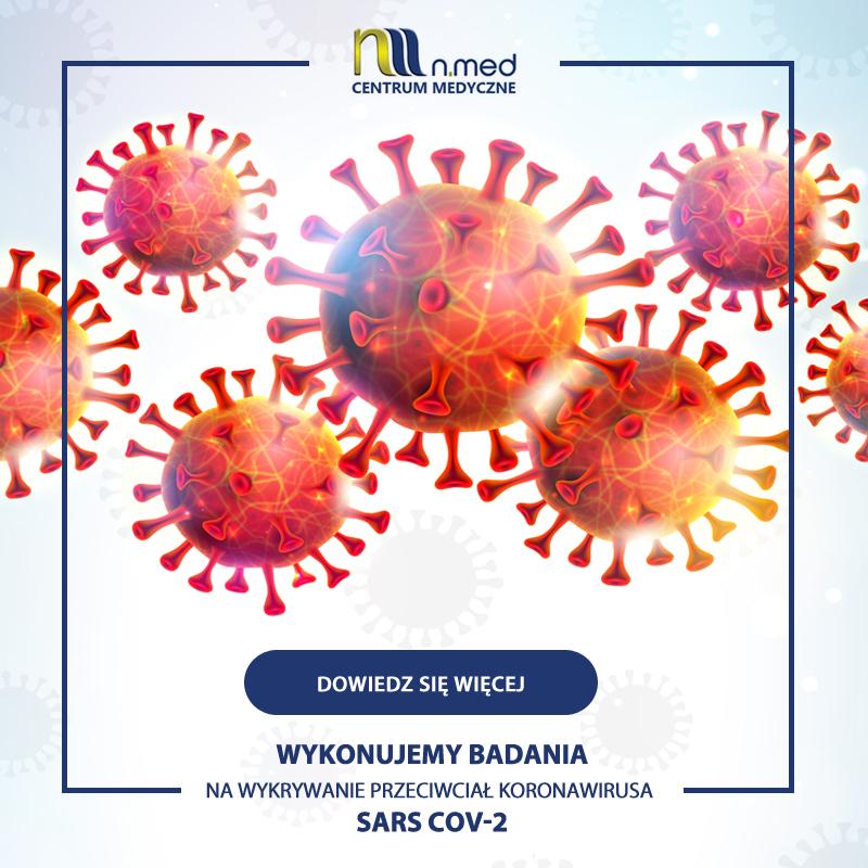 Test na przeciwciała koronawirusa